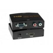 CONVERSOR VGA PARA HDMI + AUDIO RCA