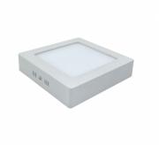 Luminária Painel Led de Sobrepor Quadrada 12w 6,500k Luz Fria