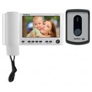 Vídeo Porteiro Com Display 4 Pol Iv4010hs Branco Intelbras