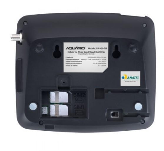 Celular Rural Aquario 3G Dual Chip CA-42S
