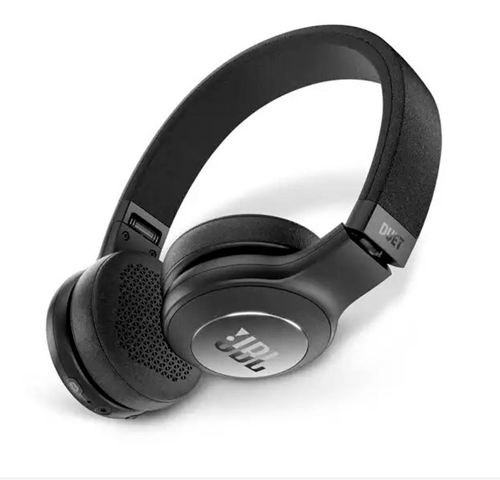 Fone de Ouvido JBL Duet BT Headphone Preto