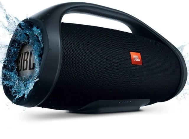 Caixa de Som Bluetooth JBL Boombox, IPX7 à prova d'água, Conect + USB