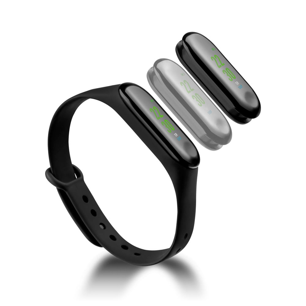 Relógio Smart Band Tóquio Atrio Android/IOS Preto