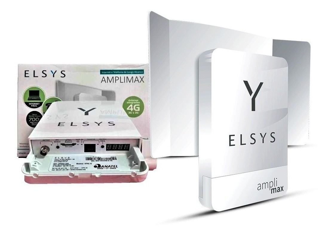 ROTEADOR 4G AMPLIMAX DADOS E VOZ - EPRL12 ELSYS