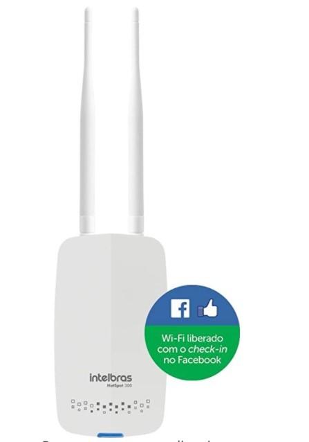 Roteador C/Check-in FB HotSpot 300