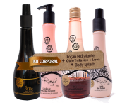 COMBO VIP Kit Matizador 4Platinum + Kit Corporal Wine