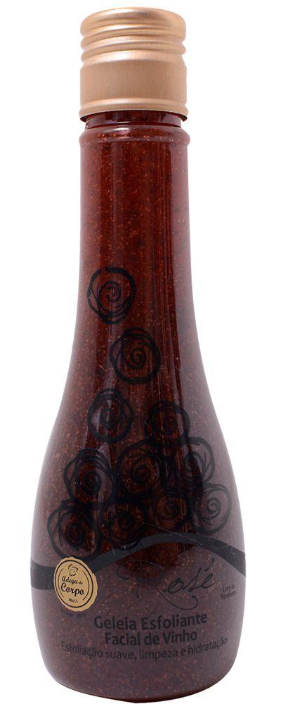 Geléia Esfoliante Facial de Vinho - 120ml