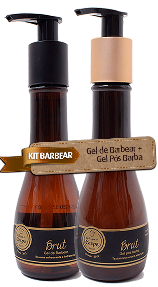 KIT Barbear - Gel de Barbear + Gel Pós Barba