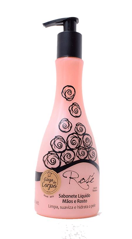 Sabonete Líquido Mãos e Rosto Rosé