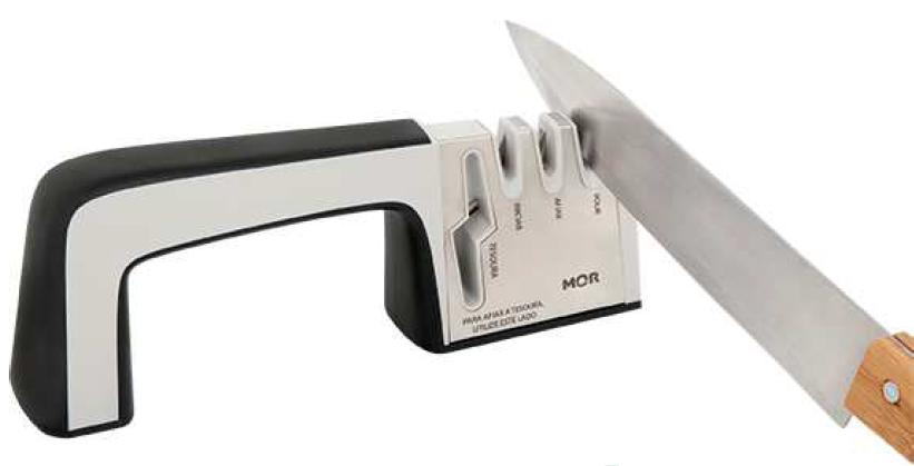 Afiador de facas e tesouras (Mor)