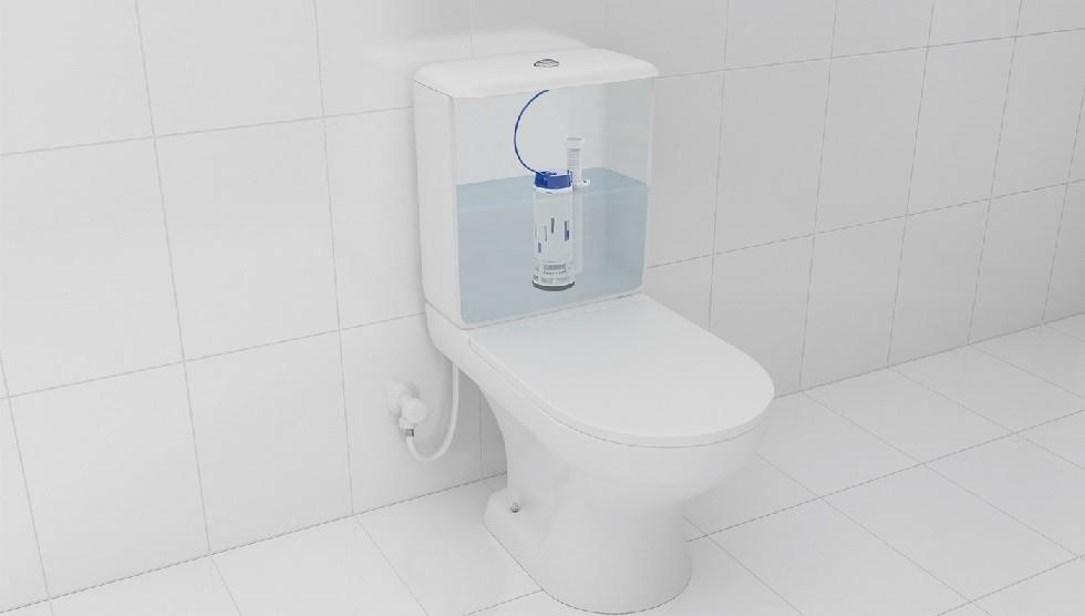 Mecanismo de saída para caixa acoplada - Dual Flush