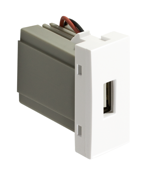 Módulo tomada USB Linha Pro - Alumbra