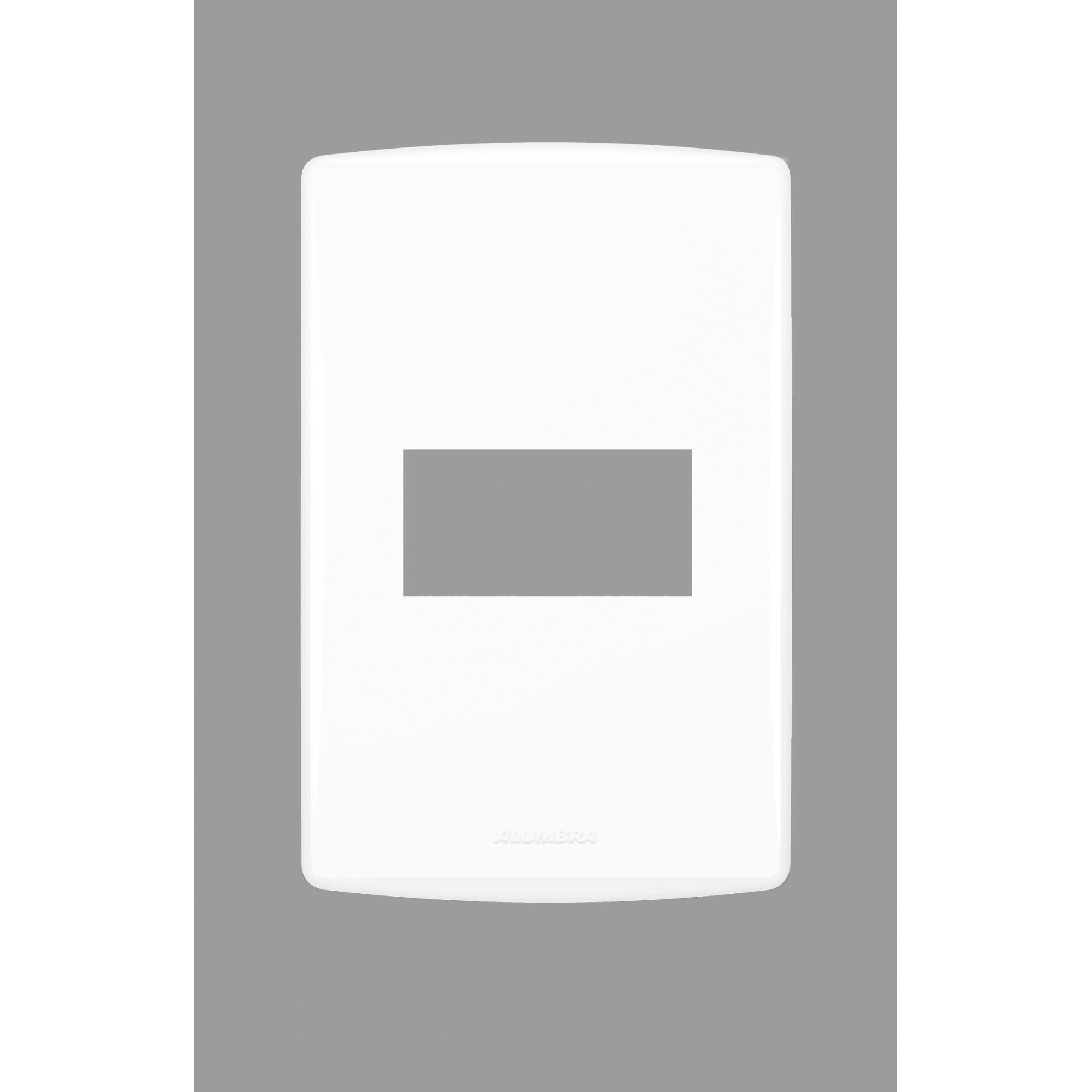 Placa com suporte 4x2 Bianco Pro - Alumbra