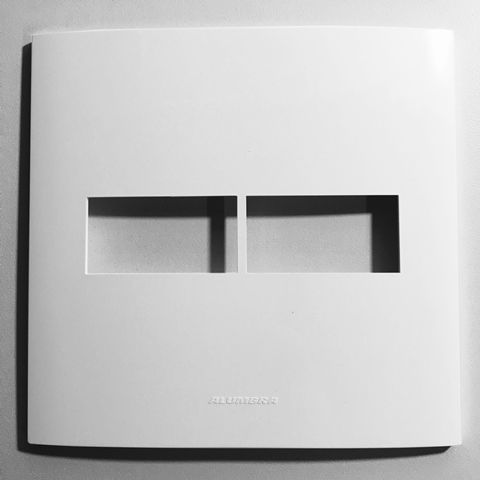 Placa com suporte 4x4 Inova Pro - Alumbra