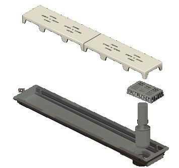 Ralo Linear Novii PVC 50cm