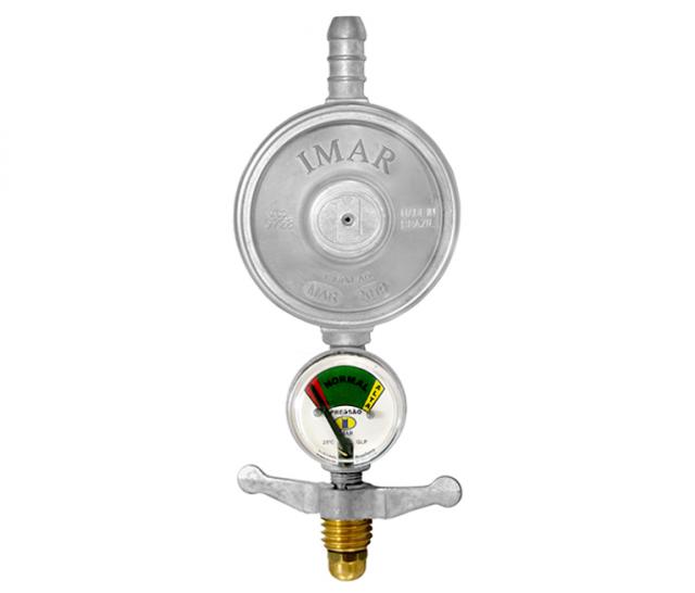 Regulador de Gás com Manômetro