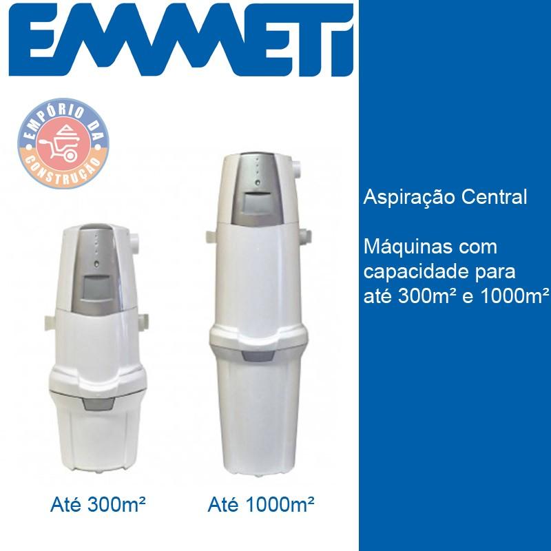Sistema de Aspiração Central - Emmeti
