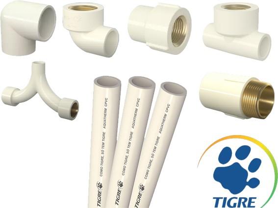 Tubos e conexões Aquatherm (CPVC) - Tigre
