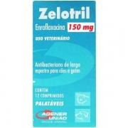 ANTIBACTERIANO ZELOTRIL AGENER 150MG C/ 12 COMP