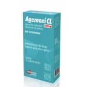 ANTIBIÓTICO AGENER AGEMOXI CL 250MG C/10 COMP