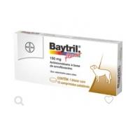 ANTIBIÓTICO BAYER BAYTRIL 150MG COM 10 COMP