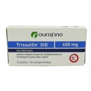 ANTIBIÓTICO OURO FINO TRISSULFIN 400MG C/10