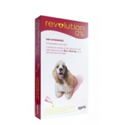 ANTIPULGAS ZOETIS REVOLUTION CÃO 10,1KG / 20KG - 120MG - 12% 1ML C/1UN