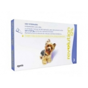 ANTIPULGAS ZOETIS REVOLUTION CÃO 2,6KG / 5KG - 30MG - 12% - 0,25ML C/3 UN