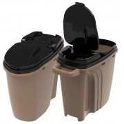 DISPENSER HOME GOLD EDITION PLAST PET 40 LITROS C/ CANECA DOSADORA