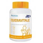 OTOLÓGICO SUPLEMENTO VITAMÍNICO MUNDO ANIMAL NUTRISANA QUERAVITALE C/30 COMP