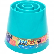 PET GAMES COMEDOURO DOG EAT P VERDE AGUA