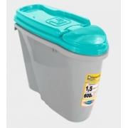 PLAST PET DISPENSER HOME 1,5L/600G AZUL TIFANY