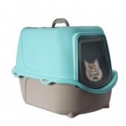 PLAST PET SANITÁRIO WC CAT NEW AZUL TIFFANY