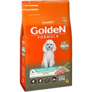 RAÇÃO GOLDEN CÃO ADULTO MINI BITS FRANGO E ARROZ 3KG