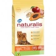 Ração Naturalis Frango, Peru E Frutas Raças Pequenas Para Cães Adultos