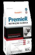 RAÇÃO PREMIER CÃO ADULTO NUTRIÇÃO CLÍNICA GASTROINTESTINAL RAÇAS PEQUENAS 10,1KG