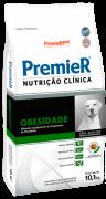 RAÇÃO PREMIER CÃO ADULTO NUTRIÇÃO CLÍNICA OBESIDADE RAÇAS GRANDES 10,1KG