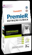 RAÇÃO PREMIER CÃO ADULTO NUTRIÇÃO CLÍNICA OBESIDADE RAÇAS PEQUENAS 2KG