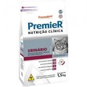 RAÇÃO PREMIER GATO ADULTO NUTRIÇÃO CLÍNICA URINÁRIO 1,5KG