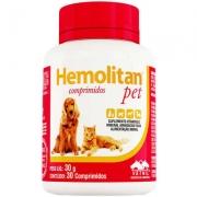 SUPLEMENTO VETNIL HEMOLITAN PET C/ 30 COMP