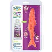 TRUQYS PETS DENTAL FISH LARANJA