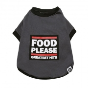 YO DOG T-SHIRT FOOD PLEASE - P
