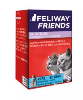ANÁLOGO SINTÉTICO DO ODOR MATERNO FELINO CEVA FELIWAY FRIENDS REFIL
