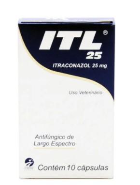 ANTIFÚNGICO CEPAV ITL ITRACONAZOL 25MG C/10 COMP
