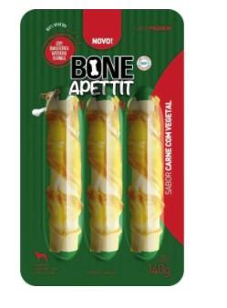 BONE APPETIT ROLL VEGETAL CARNE C/ VEGETAL 150G