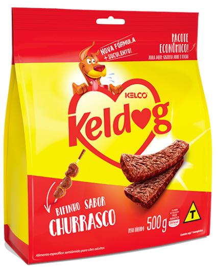KELDOG BIFINHO CÃO CHURRASCO 500G