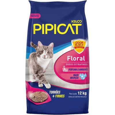 PIPICAT AREIA FLORAL 12KG