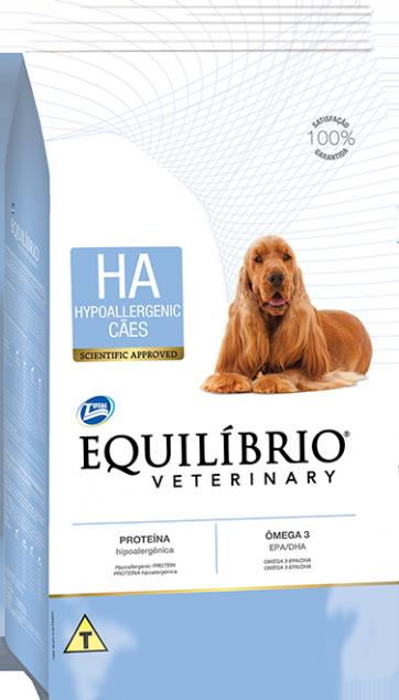 RAÇÃO EQUILIBRIO CÃO ADULTO VETERINÁRIA HYPOALLERGENIC 7,5KG
