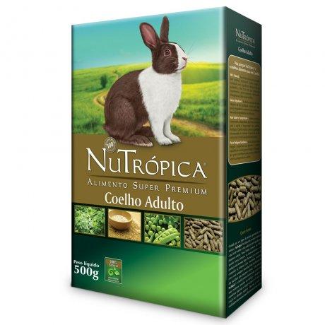 RAÇÃO NUTRÓPICA COELHO ADULTO 1,5KG