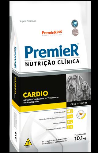 RAÇÃO PREMIER CÃO ADULTO NUTRIÇÃO CLÍNICA CARDIO 10,1KG